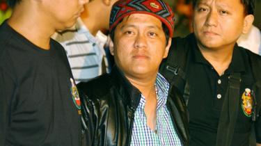 Den hovedmistænkte for massakren, Andal Ampatuan junior, meldte sig i går til politiet.