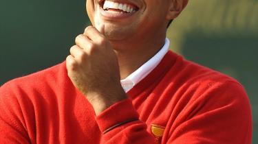 Tiger Woods er måske alligevel ikke en tørvetriller.