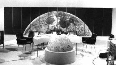 1969. Månelandingen som den tog sig ud i DR's majestætiske dage.
