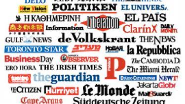 I dag tager 56 aviser i 45 lande det hidtil usete skridt at tale med én stemme