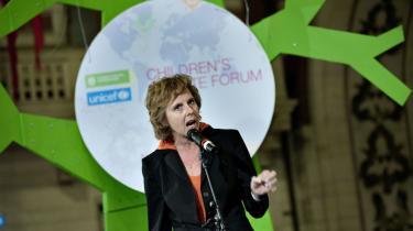 Klimamessen i Øksnehallen, hvor en bunke NGO'er og virksomheder har givet bud på en bæredygtig fremtid sluttede i går. Connie Hedegaard opfordrede til at lægge maksimalt pres på politikerne