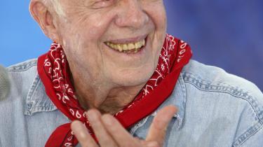 Hvis helbredet tillader det, vil vi snart se den meget aktive eks-præsident Jimmy Carter i Sudan igen. Arkiv