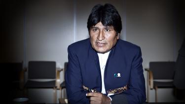 Bolivias præsident Evo Morales, der selv har en baggrund som aktivist, mener, at det er de folkelige bevægelser, der skal løse klimakrisen ved at gøre op med kapitalismens mangler..