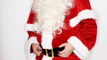 Doven. Dovenskab er ifølge julemanden selv, hans mest udtalte karaktertræk.