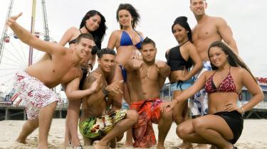 Holdet fra MTV's   omdiskuterede reality-serie Jersey Shore.