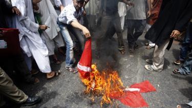 Mange af de mennesker, der demonstrerede mod trykningen af Muhammed-tegningerne, havde aldrig set tegningerne.