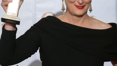 Den amerikanske skuespillerinde Meryl Streep vandt mandag nat sin syvende Golden Globe - det er rekord.  3-D-succesen 'Avatar' løb med prisen for bedste film