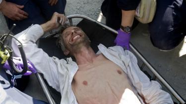 Tilbage igen. Med historien om redningen af den danske FN-medarbejder Jens Tranum Kristensen kom nyhedsdækningen tilbage på et velkendt spor.