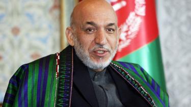 """USA's ambassadør i Afghanistan mener ikke, at den afghanske præsident, Hamid Karzai, er en partner, som Vesten skal satse på. Han er en """"upassende"""" partner"""