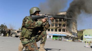 I de sydlige afghanske provinser er situationen langtfra under kontrol, så her kommer det til at vare flere år, før de afghanske sikkerhedsstyrker kan overtage ansvaret.