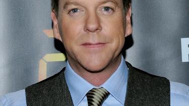 Kiefer Sutherland var til premi°©ere°© p? 8. s©°son af tv-serien °Ø24 timer°Ø i New York i sidste uge.