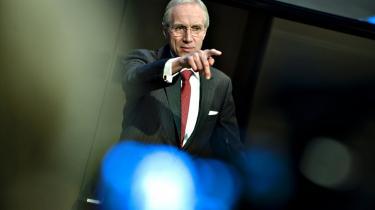 Danske Banks ordførende direktør, Peter Straarup, fremlagde Danske Banks årsregnskab i går. Overskuddet for 2009 efter skat var 1,7 mia. kr., men handelsindtægterne viste et plus i 2009 på ikke mindre end 18,2 mia. kr.