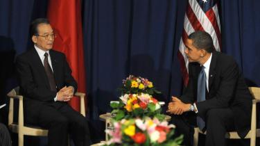 En af grundene til, at COP15 mislykkedes, var at USA's præsident Barack Obama ikke forstod at forhandle med Kinas premierminister Wen Jiabao ud fra, at Kina er en ny type stormagt, skriver dagens kronikør.