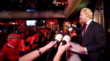 Geert Wilders kunne sent onsdag fejre en stor valgsejr ved det Hollandske kommunalvalg.
