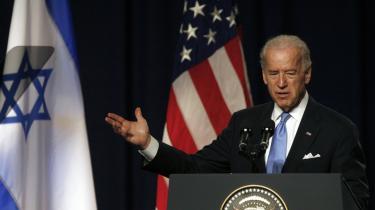 Israelsk embedsmænd stak en kæp i hjulet på den amerikanske vicepræsident Joe Bidens bestræbelser på at kickstarte fredsprocessen i Mellemøsten.