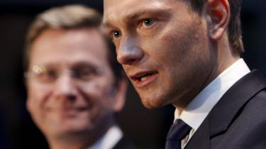 Spørgsmålet om, hvor meget frihed, borgerne skal nyde i staten, skiller de tyske regeringspartnere. Avisen Die Zeit har pustet liv i den ideologiske diskussionen, som foreløbig er endt i et lykkeligt kompromis mellem det kristent-konservative CDU og det liberale FDP