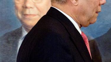 Ingen af os kunne vide, at Colin Powells fremlæggelse af indicier på masseødelæggel-sesvåben i FN's Sikkerhedsråd ikke holdt vand, skriver Per Stig Møller.