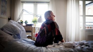 Accept af døden. Her på hospicet har både min familie og jeg fået ro og hjælp til at acceptere min død, og nu fylder den ikke i mine tanker mere, siger Karin Vilhelmsen om sin beslutning om at sige nej til mere livsforlængende behandling.