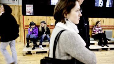 Det er særligt kvinderne,   der sluger krimier - og besøger messen i Horsens.