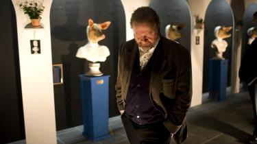 På den store retrospektive udstilling af Bjørn Nørgård (billedet) kan man se skulpturer, installationer, aktioner, film og grafik fra Nørgaards meget facetterede kunstnerliv.