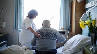 En tid endnu. Sygehuset i Kalundborg tager sig stadig af områdets syge. Men i 2011 er det slut. Udkantsområderne vokser og kommer til at omfatte stadigt flere mennesker.