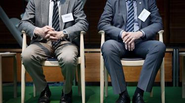 Alle var i jakkesæt, da de store økonomiske kræfter og de grønne interesser i Danmark var i går samlet til konference om grøn innovation og forskning i går.