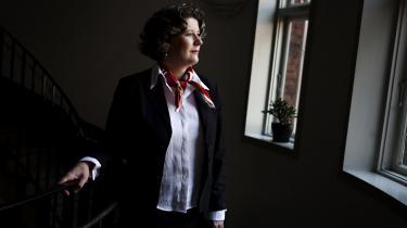 Forsvarsminister Gitte Lillelund Bech var tidligere en varm tilhænger af kvindelig værnepligt. Men nu står det punkt ikke længere på hendes dagsordenen: Nu er jeg jo minister og skal have hele regeringen bag mig, forklarer hun.