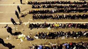 Flere hundrede mennesker blev frihedsberøvet, da politiet brød ind i COP 15-demonstrationen den 12. december sidste år.