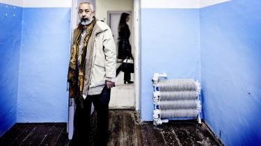 Krimiforfatteren. Den cubanske krimiforfatter Leonardo Padura gæstede krimimessen i Horsens' gamle statsfængsel.