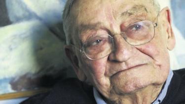 Frihedskæmperen Hugo 'Uffe' Horwitz er død, 87 år gammel
