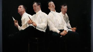 En række kunstnere, der engang blev overset, er sat i scene efter alle kunsthistoriens tarvelige regler
