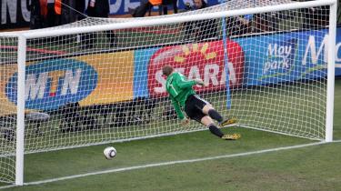 Det udømte mål, som FIFA har censureret bort fra sin webside.