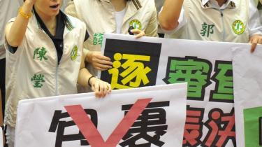 Taiwan og Kina har netop indgået en handelsaftale til oppositionens store fortrydelse i Taiwan. Men aftalen har støtte i befolkningen, skriver Taiwans kontor i København.