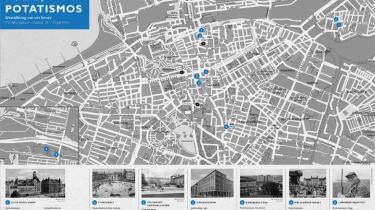 Med udgangspunkt i Sjöwall og Wahlöö-krimien fra 1970 'Polis, Polis, Potatismos!' har Malmö Konsthall inviteret 15 kunstnere til at udvikle en projektudstilling om en forbrydelse