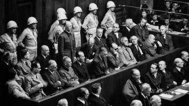 Ingen troede efter Anden Verdenskrig på, at Hermann Görings lillebror var antinazist, og da han i 1947 endelig blev løsladt, ville ingen have med ham at gøre.   Foto fra Nürnbergprocessen.   Arkiv