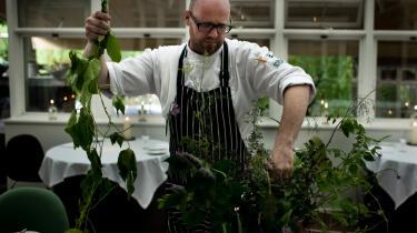 Paul Cunningham giver gæsterne magiske smagsindtryk, når de besøger restauranten The Paul i Tivoli.