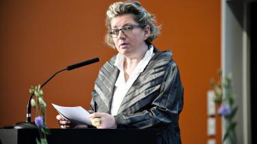 'Taxameterpenge er måden, vi honorerer universiteterne på,' siger Charlotte Sahl-Madsen.