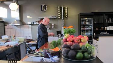 Åbenhed. Restaurant Davids åbne køkken giver gæsterne rig mulighed for at følge med i hele processen.