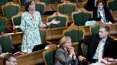 De Radikale har altid forstået at være tungen på vægtskålen, ikke mindst efter 1953-grundloven. Her Margrethe Vestager.