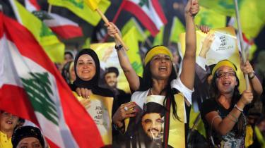 Hassan Nasrallah og Hizbollah har stadig opbakning fra store dele af befolkningen på trods af interne libanesiske opgør og beskyldninger om, at bevægel-sen stod bag mordet på ekspremierminster Rafik Hairiri i 2005.