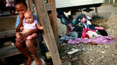 Ifølge professor Gus Speth er fattigdommen i USA nu på noget nær det højeste niveau i 30 år. Spørgsmålet er, om en ny økonomi uden vækst kan skabe de arbejdspladser, der er så hårdt brug for.