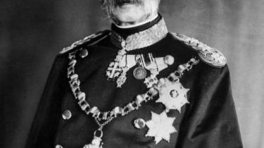 I 1864 tilbød kong Christian IX Danmark til tyskerne. Billedet her er fra ca. år 1900.