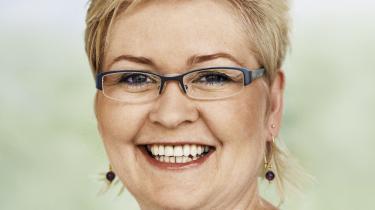 Venstres uddannelsesordfører, Anne-Mette Winther Christiansen, ser ikke flere elever i gymnasieklasserne som et problem. Og i givet fald er det gymnasiernes eget ansvar at finde en løsning