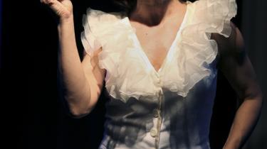 Marguerite Viby eller Ina-Miriam Rosenbaum? I cabareten på Revymuseet blandes virkelighed og fiktion begavet og besnærende i portrættet af Danmarks revystjerne   - og Susse Wolds mor.