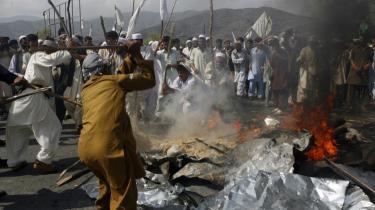 I Afghanistan (billedet) og Pakistan har der været voldsomme demonstrationer, blandt andet i den afghanske by Faizabad, hvor op mod 10.000 demonstrerede mod afbrændingen af koranen. Men ellers har der været forholdsvis roligt i de muslimske lande.