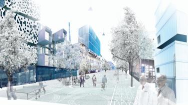 Den overordnede indretning af en ny universitetsbydel mellem Fælledparken og Nørrebro lægger vægt på både bygninger, mellemrum og vidensnet