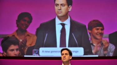 Der var stor opbakning, da Labours nye leder, Ed Miliband, i går udstak en ny kurs for sit parti: Labour skal være mere røde, selvom de i de på deres partikonference fremstår i en mere rosa nuance.