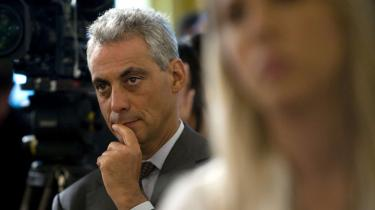 Obamas inflydelsesrige stabschef, Rahm Emanuel,   er på vej ud af døren.