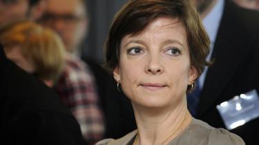 Venstres miljøminister, Karen Ellemann, måtte lide den tort, at landmændene i hendes folketingsgruppe druknede hendes forslag i gylle.