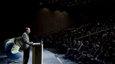 Ted Nordhaus nærmest hånede forestllingen om, at det kunne være lykkedes at nå en global klima-aftale under COP15 sidste år, da han tidligere på ugen talte på World Climate Solutions 2010 i Bella Center.